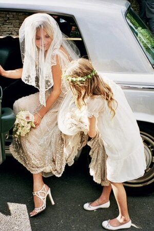 We love! Las niñas de arras de la boda de Kate Moss.