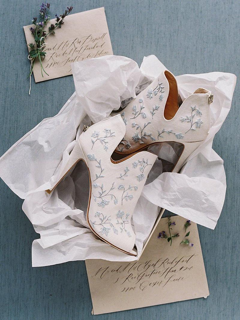 Wedding bootie ideas / Botines para novias