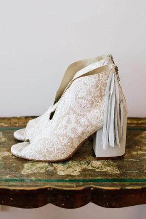 Adoramos los botines para novias, y tú también lo harás.