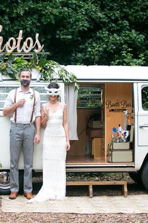 Di «pa-ta-ta» y sonríe al fotomatón de tu boda.