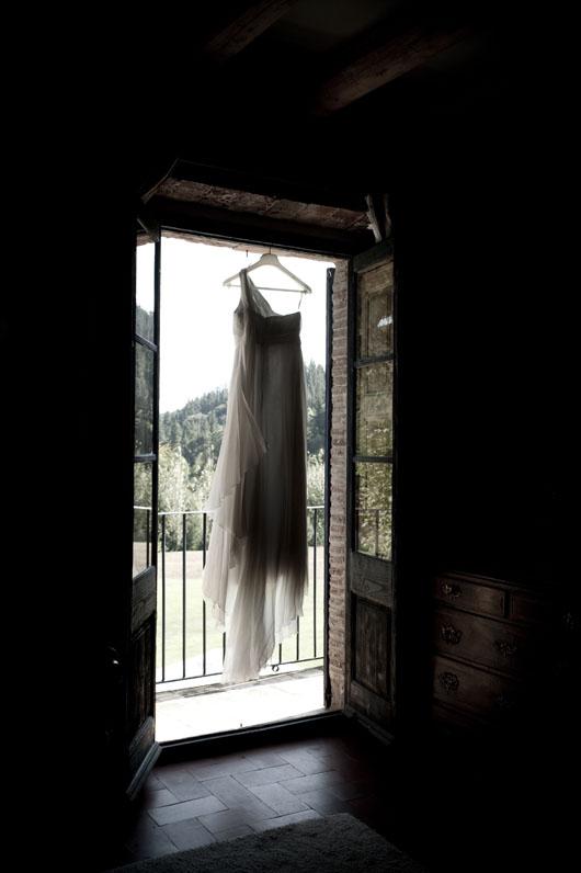 Vestido de novia {Foto, cortesía de Mireia Cordomi}