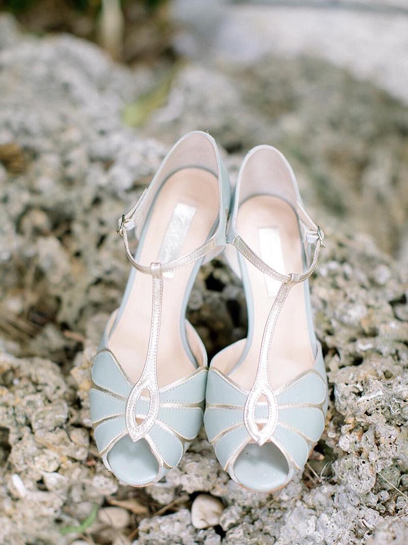 Tendencias en zapatos para novias.
