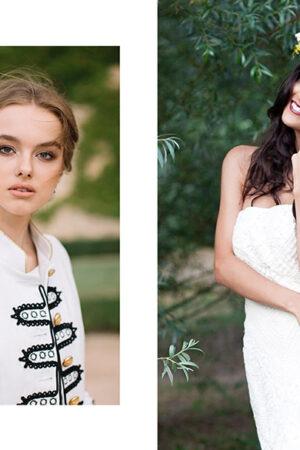 5 tendencias para un maquillaje de novia de otoño.