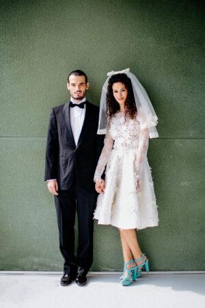 Inspiración para una boda retro, estilo años 50.