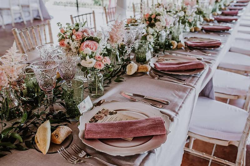 Floristería para bodas en Madrid