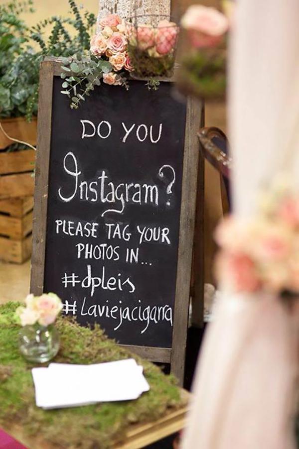 Comparte tu boda en redes sociales