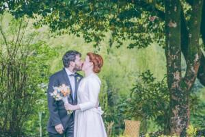 La boda 'bajo el árbol' de Camino y Quique