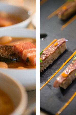 El perfecto menú para una boda asturiana.