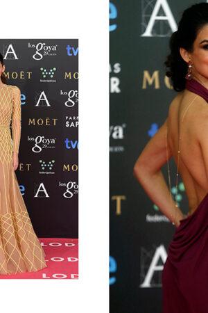 10 vestidos de la alfombra fucsia de los Goya 2015.