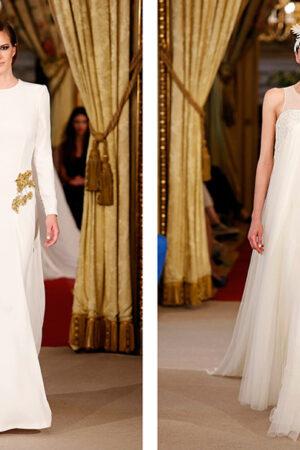 La pasarela Atelier Couture a través de 12+1 vestidos de novia que resaltan la costura 100% española.