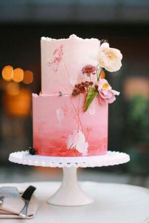 Pink wedding cakes!… o cómo el color rosa es perfecto para decorar vuestra tarta de boda.