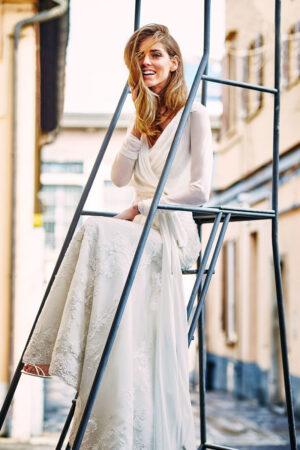 Ser una 'It bride' con los looks de novia de Chiara Ferragni para Pronovias.