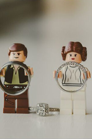Star Wars… ¡Hasta en la boda!