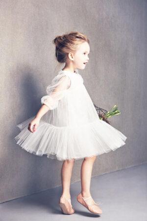 Bailarinas, el calzado ideal para las niñas de arras.