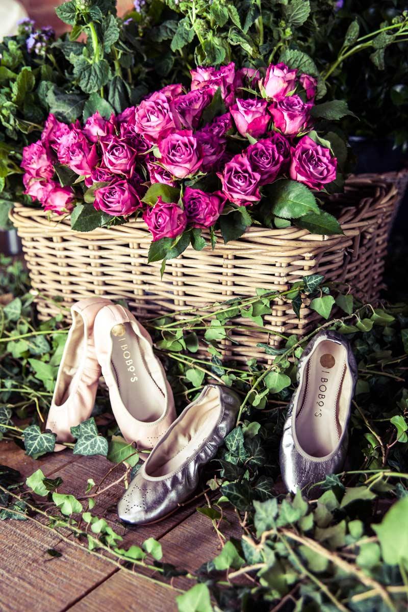 Calzado de niñas para una boda
