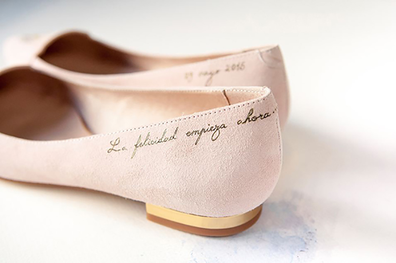 Ideas en zapatos de novia