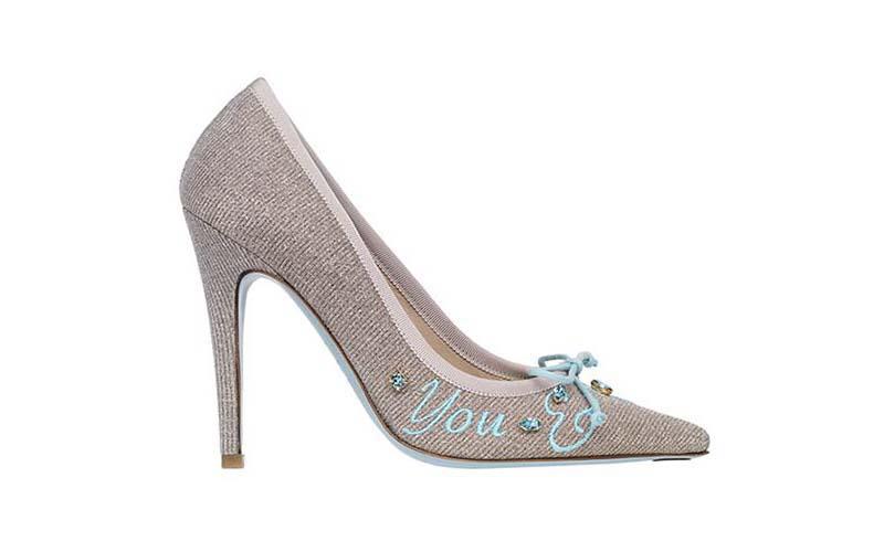Ideas en zapatos para novias.