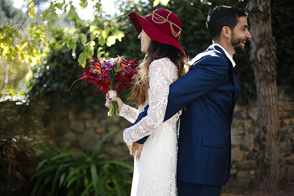 Slow wedding bohemia en L'Avellana · Tendencias de Bodas Magazine