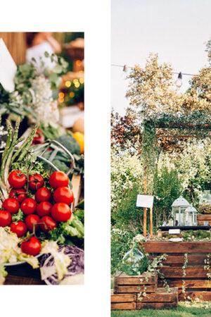 11 puestos de comida y 'champagne station' de la Calista One Summer Party que querrás en tu boda.
