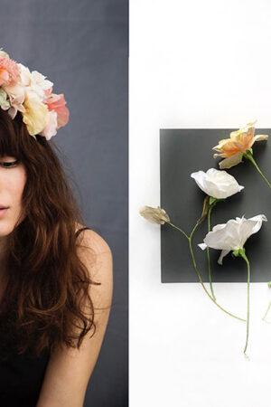 Beatriz Natmar, la elegante y sutil belleza de una taxidermista de flores.