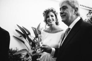 El padre de la novia.