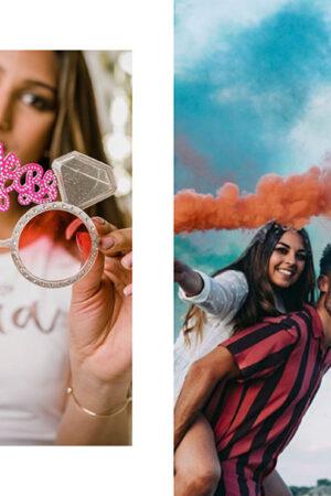 La fotografía de momentos bonitos de Rubén Mejias, las cámaras instantáneas de Canon y los artículos 'team bride' de Miss Saturday.
