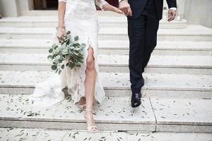 La boda mediterránea de Nazaret e Isaac en Barcelona.