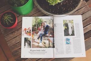 Hablando de 'slow wedding' con El País Semanal.
