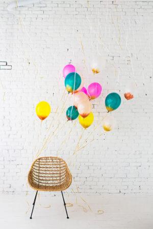 7 ideas para que decores tu boda con globos.