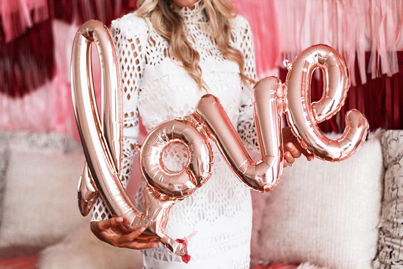 Ideas con globos para la boda.