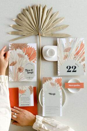 9 imprescindibles en la papelería de tu boda.