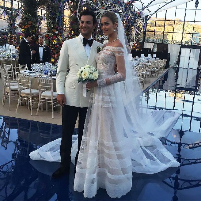 La boda en Mykonos de Ana Beatriz Barros y Karim El Chiaty.
