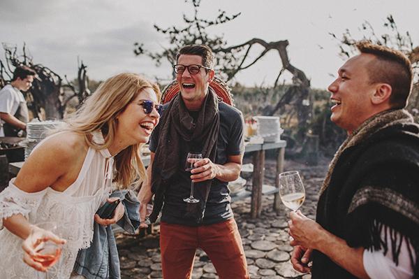 Fiesta preboda con amigos