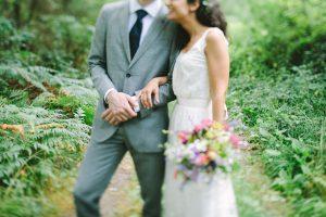 La boda orgánica y 'slow' de Leticia y Franco en Galicia.