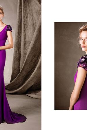 La colección 2017 de vestidos de fiesta de Pronovias más moderna y sofisticada que nunca.