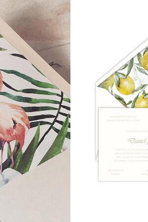 Las invitaciones de boda de Caligrafía con Arte con buen gusto y estilo clásico para ser recordadas.