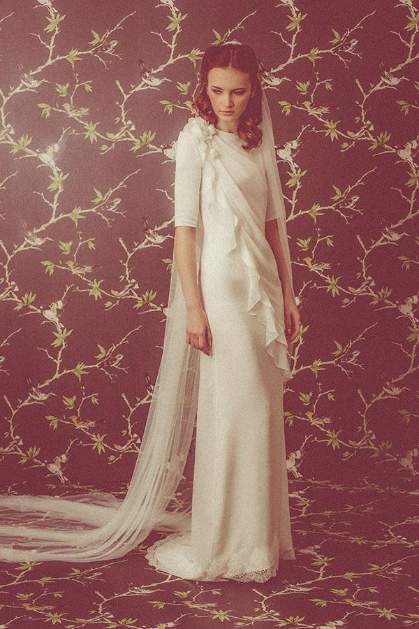 Vestidos de novia de Isabel Nuñez – Tendencias de Bodas Magazine