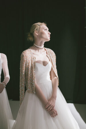 De camino a Barcelona Bridal Fashion Week (y fotos exclusivas del backstage de Jesús Peiró).
