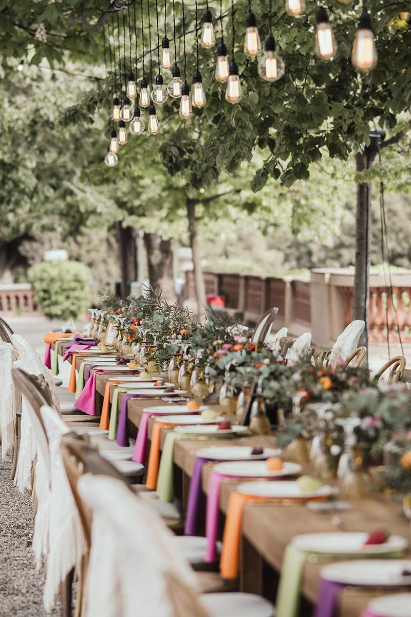 12 decoraciones de mesas para bodas