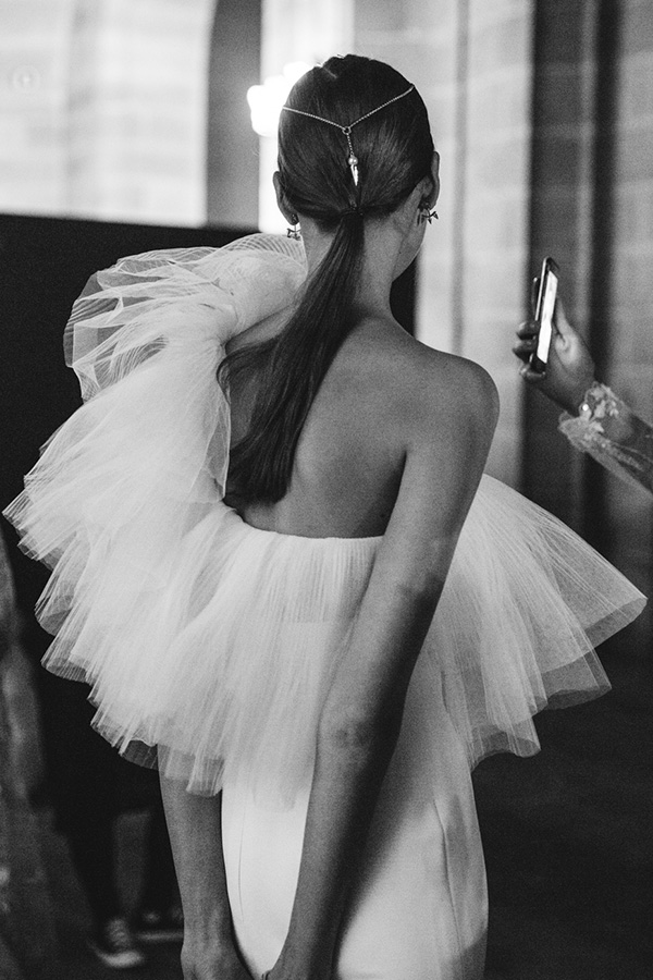 Vestido de novia Yolancris couture 2018 - Foto exclusiva de Tendencias de Bodas Magazine