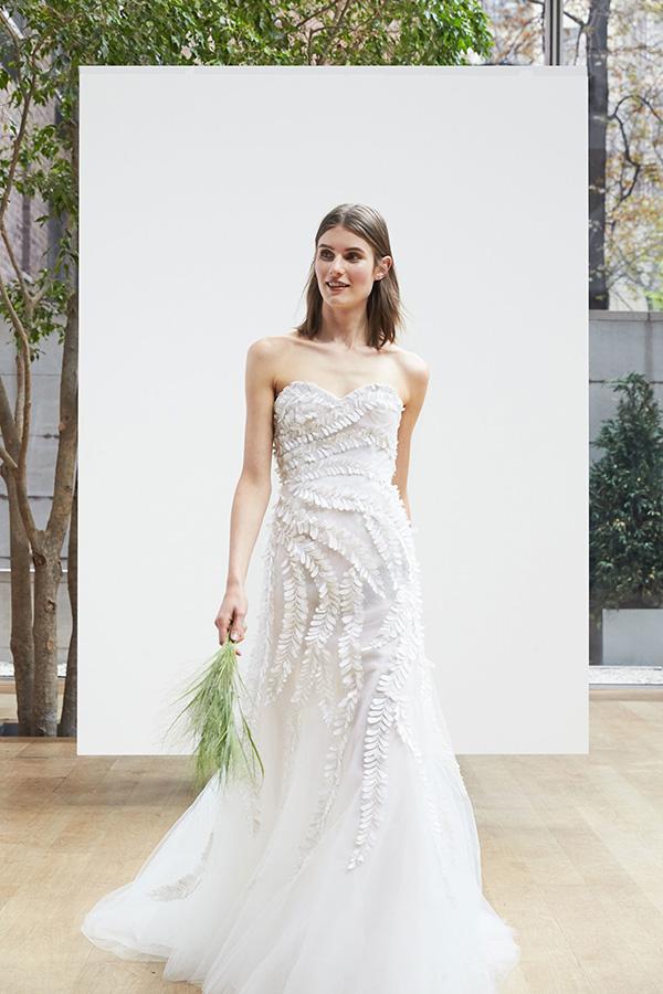 Vestido de novia de Oscar de la Renta 2018 – Tendencias de Bodas Magazine