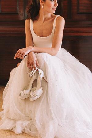 7 marcas de zapatos para novias que te enamorarán.