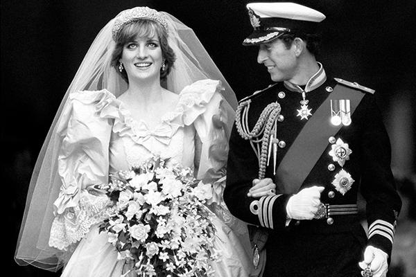 Vestido de novia dela princesa de gales