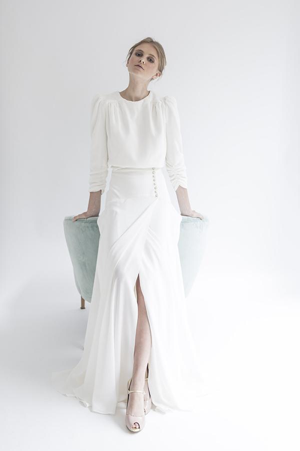 Vestido de novia de Alejandra Svarc – Tendencias de Bodas Magazine