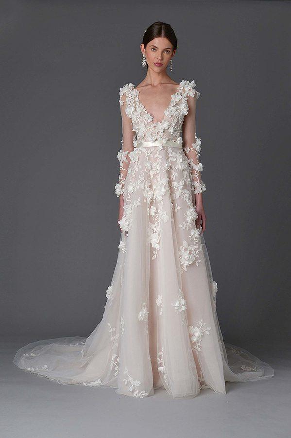 Vestido de novia de Marchesa – Tendencias de Bodas Magazine