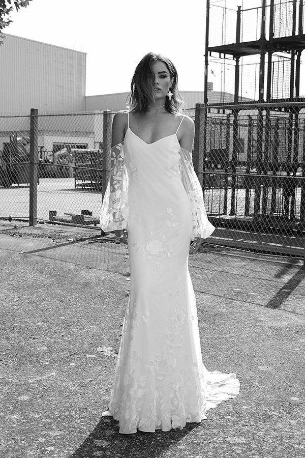 Vestido de novia de Rime Adoraki – Colección 2018 – Tendencias de Bodas Magazine