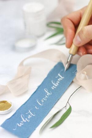 Letras bonitas: el arte de la caligrafía y el lettering.