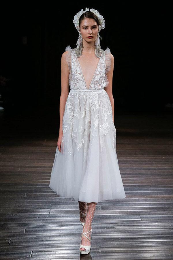 Vestido de novia de Naeem Khan 2018 – Tendencias de Bodas Magazine