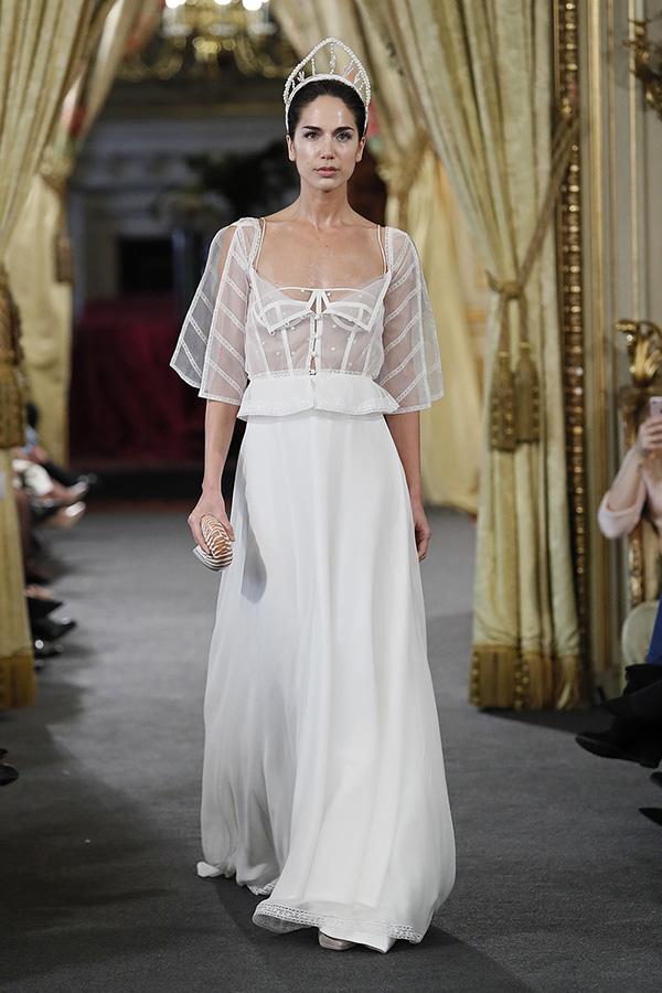 Vestido de novia de Cristina Piña  – Colección 2019, La Isla – Tendencias de Bodas Magazine