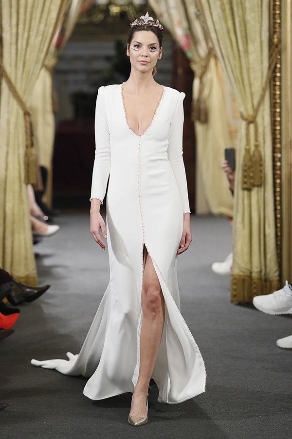 Vestido de novia de Eliz Smis – Colección 2019 – Tendencias de Bodas Magazine